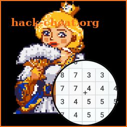 Princess Pixel Art Coloring By Number Hacks Tips Hints And Cheats Hack Cheat Org