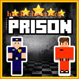 Prison Life and Escape. Roleplay map for MCPE icon