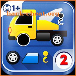Puzzle Cars for kids 2 icon