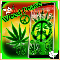 Rasta Weed Peace Reggae Theme icon