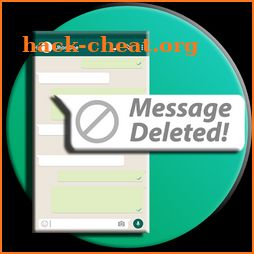 Read deleted messages - recover deleted messages icon