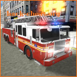 Real Fire Truck Driving Simulator: Fire Fighting icon