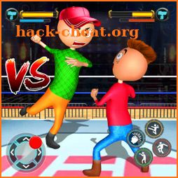 Real Stickman Ring Fighting icon