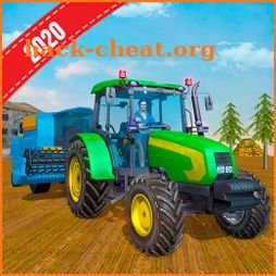 Real Tractor Farming Game 2020 icon