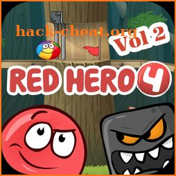 Red ball roller game: Jump Ball 4 icon