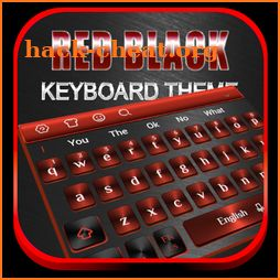 Red Black Metal Keyboard icon