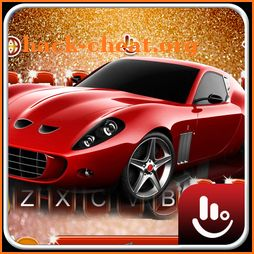 Red Sports Car Keyboard Theme icon