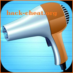 Relaxing hair dryer (sound effect) icon