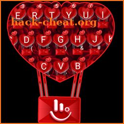 Romantic Red Rose Love Keyboard Theme icon