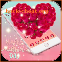 Rose Love Theme Launcher for Mothers' Day icon