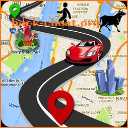 Route finder- GPS Maps Navigation 2k18 icon