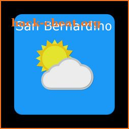 San Bernardino,CA - weather and more icon