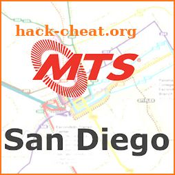 San Diego Transit: Offline MTS departures and maps icon