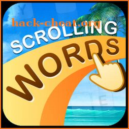 Scrolling Words-Find Words from Scrolling Letters icon