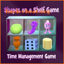 Shapes on a Shelf Game icon