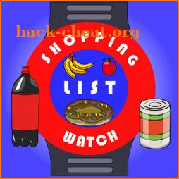 Shopping List Watch icon