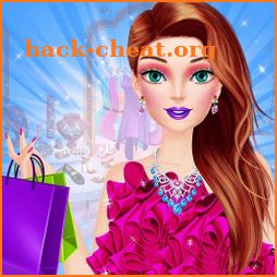 Shopping Mall Rich Girl Dressup - Color by Number icon