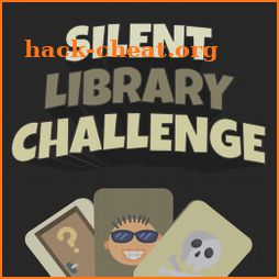 Silent Library Challenges: funny dares, party game icon