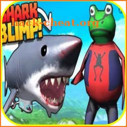 Sim  Frog Game Amazing Adventure shark TOWN icon