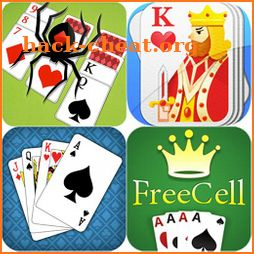 Solitaire · Spider · Freecell Card Game All in one icon