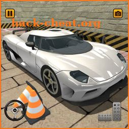Sports Car Speed Simulator - free driving games icon