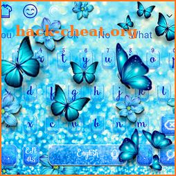 Spring Luxury Butterfly Keyboard icon