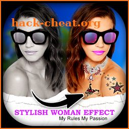 Stylish Woman Photo Editor icon