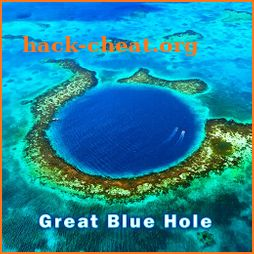 Summer Wallpaper Great Blue Hole Theme icon