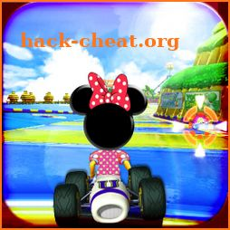 Super minnie Racing icon