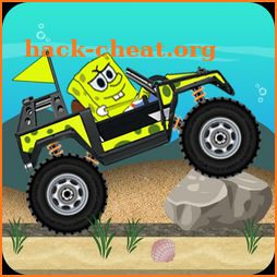 Super Spongebob Hill Car Racing Adventure icon