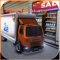 Supermarket Cargo Transport Truck Driving Sim 2019 icon