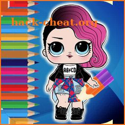 Surprise Dolls Collector Coloring Pages icon