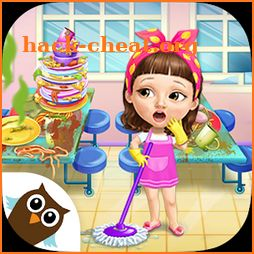 Sweet Baby Girl Cleanup 6 - Cleaning Fun at School icon