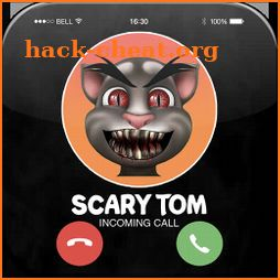 Talking With Tom- Talking Scary Tom Call Simulator icon