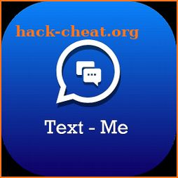 Text – Me: Free Text & Free Call International icon