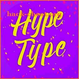 Text on Photo Maker Hype Type effect icon
