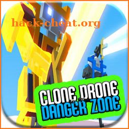 The Clone drone Battle Danger zone simulator Hints icon