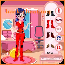 The Marvelous Ladybug Quin Dress up Party Game icon