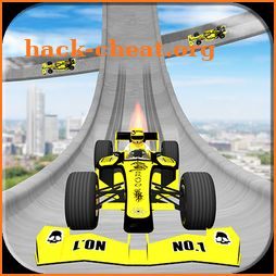 Top Speed Mega Ramp Formula Car Stunts Race Tracks icon