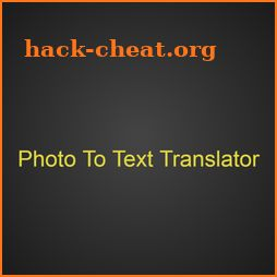 Translate photo to your language: Photo translator icon