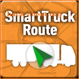 Truck GPS Route Navigation icon