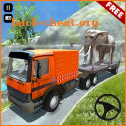 Truck Simulator Animal Transport Game icon