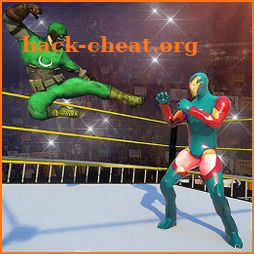 Ultimate Superhero Fighting Club : Wrestling Games icon