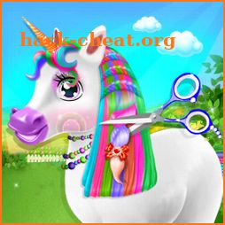Unicorn Braided Hairstyle Makeover icon