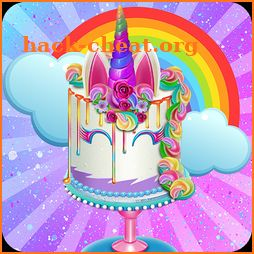 Unicorn Food Truck - Sweet Rainbow Cake Bakery icon