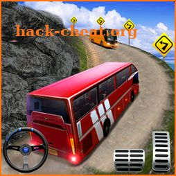 Uphill Off Road Bus Driving Simulator - Bus Games icon