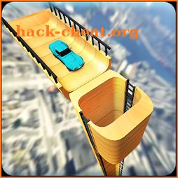 Vertical Ramp Car Extreme Stunts Racing Simulator icon