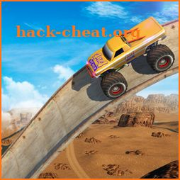 Vertical Ramp - Monster Truck Extreme Stunts icon