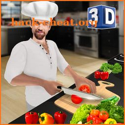 Virtual Chef Cooking Game 3D: Super Chef Kitchen icon
