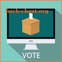 voting machine icon